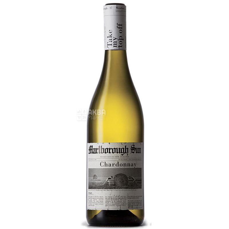 Saint Clair, Вино белое сухое, Chardonnay Marlborough Sun, 0,75 л