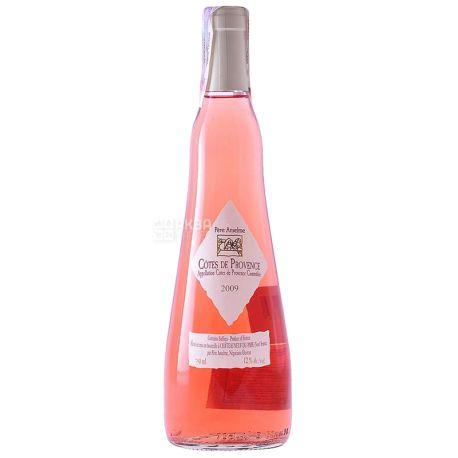 Brotte S.A, Cotes De Provence Pere Anselme, Вино розовое сухое, 0,75 л