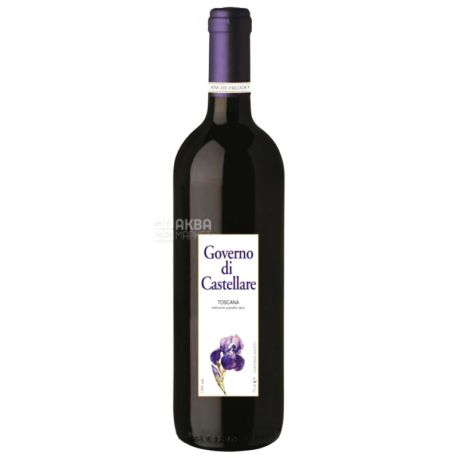 Castellare di Castellina, Governo, Вино красное сухое, 0,75 л