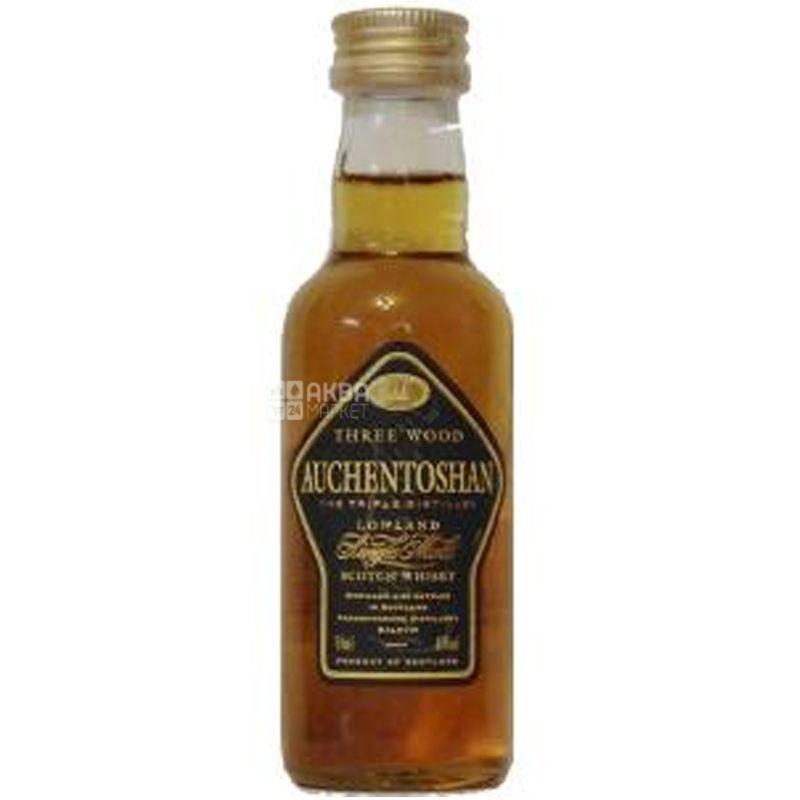 Auchentoshan 3 Wood, Whiskey, 0.05 L