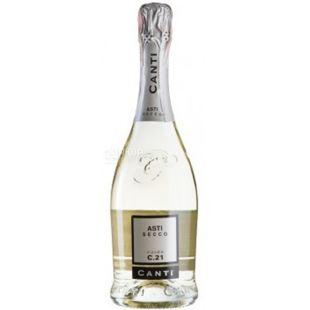 Asti Secco, Canti, Шампанское, 0,75 л