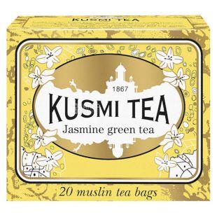Kusmi Теа, Jasmine, 20 пак. х 2,2 г, Чай Кусми Ти,  Жасмин, зеленый
