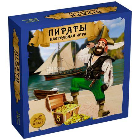 Arial, Настільна гра, Пірати, 121 картка, для хлопчиків, дітям старше 8-ми років