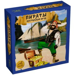 Arial, Board game, Pirates, 121 card, for boys, for children over 8 years old