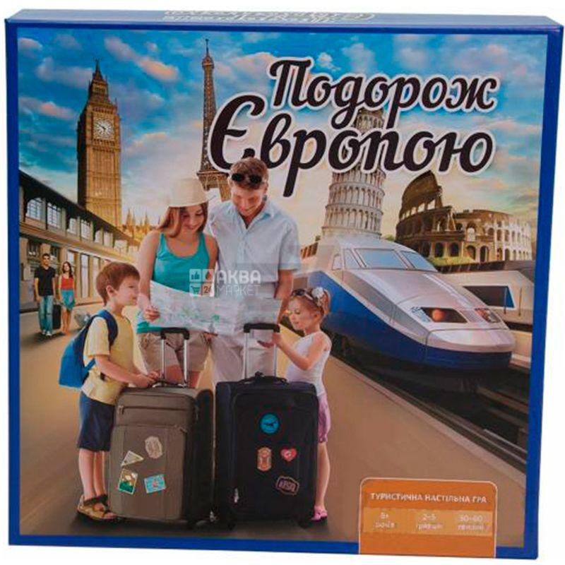Arial, Настільна гра, Подорож по Європі, дітям старше 8-ми років