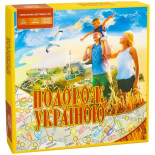 Arial, Board game, Traveling in Ukraine, for children over 8 years old