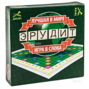 Arial, Настільна гра, Ерудит, трьомавна, дітям старше 7-ми років