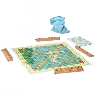 Arial, Board game, Scrabble, in Ukrainian, for children over 7 years old