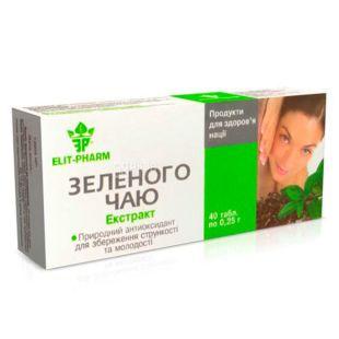 Elit-Pharm, Экстракт зеленого чая, №40