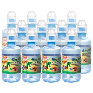Fleur Alpine, Children's water, non-carbonated, from the first days of life, sports, 0.25 l, Packaging 12 pcs., PAT
