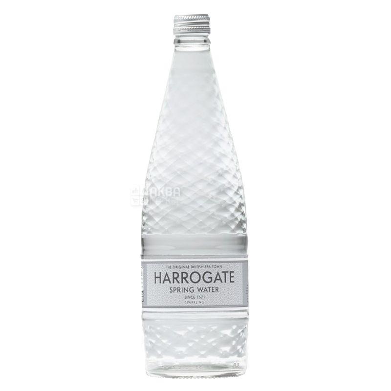Harrogate, 0,75 л, Упаковка 12 шт., Харрогейт, Вода мінеральна газована, скло
