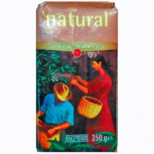 Hacendado Natural, Ground Coffee, 250 g