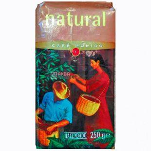 Hacendado Natural, Кофе молотый, 250 г