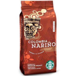 Starbucks Colombia Narino, Coffee Beans, 250 g, Starbucks Columbia Narino