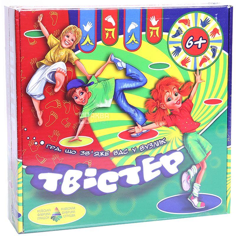 Энергия плюс, Игра, Твистер, для детей от 6 лет