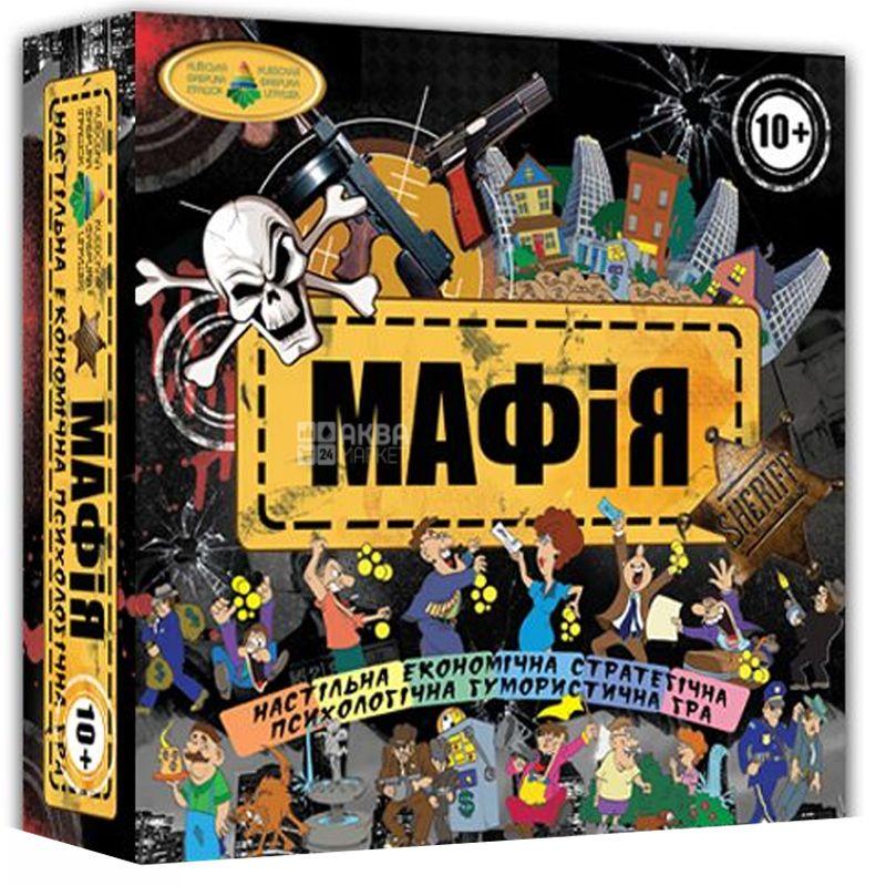 Энергия Плюс, Игра развивающая, Мафия, для детей от 10 лет