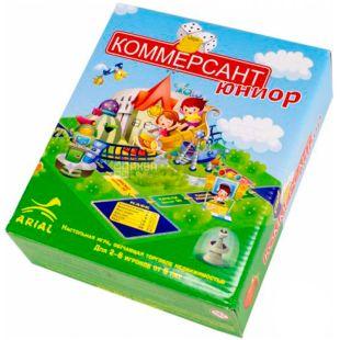 Arial, Настольная игра, Коммерсант-юниор, для детей с 6 лет