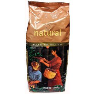 Hacendado Natural, Кофе в зернах, 1 кг