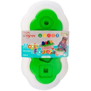 Tigres, Игрушечный набор развивающий Магические фигурки, пластик, детям от 1-ого года