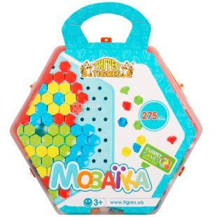 Tigres, Игрушечный набор развивающий Мозаика, пластик, детям от 3-х лет