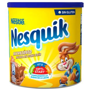 Nesquik, Opti-Start, 800 г, Несквік, Опті-Старт, какао-напій, швидкорозчинний, ж/б