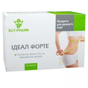 Elit-Pharm, Идеал Форте, Капсулы для похудения, №50