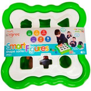 Tigres, Іграшка-сортер що розвиває Розумні фігури, пластик, дітям від 1,5 років