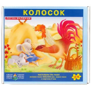 Энергия плюс, Детская настольная игра, Пазл, Колосок, для детей от 3-х лет