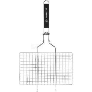 Forester, Решетка-гриль, металл, съемная ручка, 22х35 см