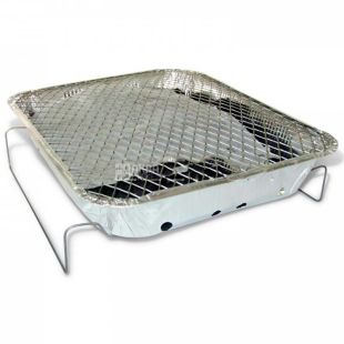 Grilly Picnic, Одноразовый гриль, фольга, 32х26х5,5 см