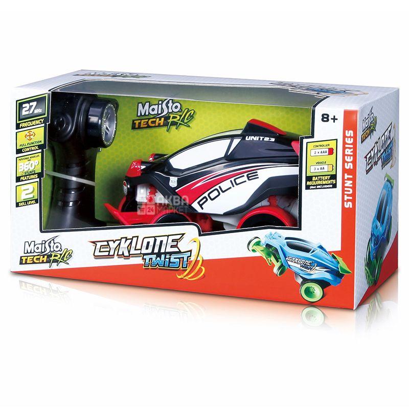 Maisto, Машинка на радиоуправлении Cyklone Twist, пластик, для детей от 8 лет