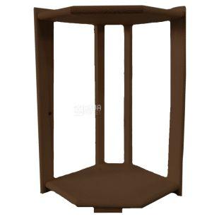 WSD-3, Підставка дерев'яна на 2 бутлі, кутова, венге