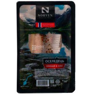 Norven, Herring spiced in oil, 250 g