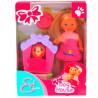 Simba, Кукольный набор Эви, Дом моей собачки, для детей от 3-х лет