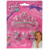 Simba, Princess tiara jewelry set, for children from 5 years