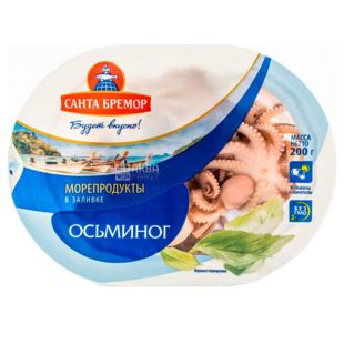 Санта Бремор, Мясо осьминога в заливке, 200 г