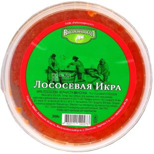 High salted salmon caviar, 300 g