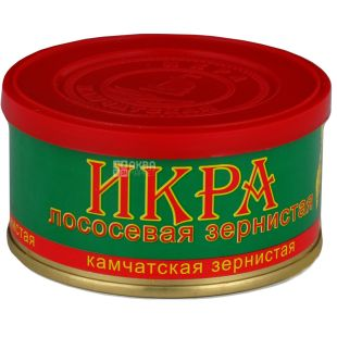 Рибкоппродукт, Ікра лососева камчатська зерниста, 130 г