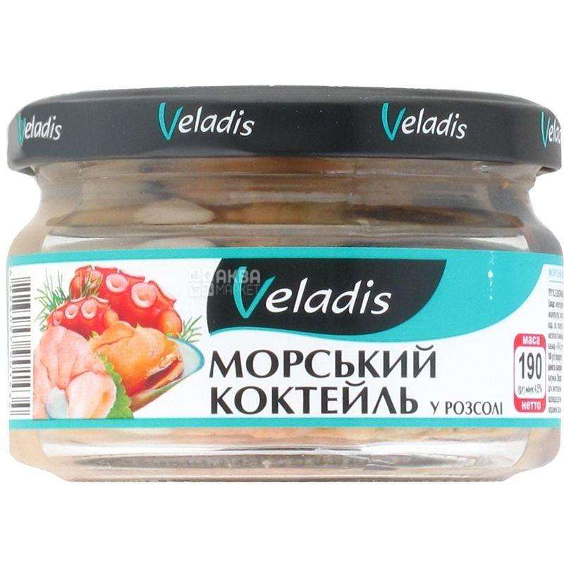 Veladis, Морской коктейль в рассоле, 190 г