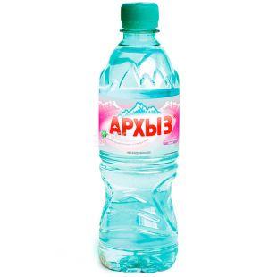 Архыз, Вода горная минеральная негазированная, 0,5 л, ПЭТ