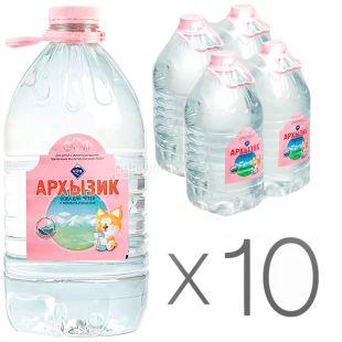 Arkhyzik, Non-carbonated water, 5 l, PET, Packaging 10 pcs., PAT