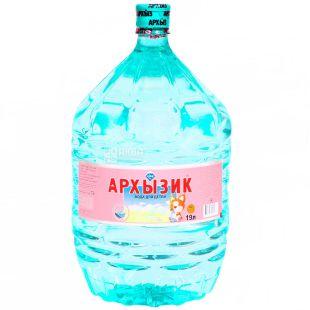 Архызик Вода детская горная негазированная, 19 л, ПЭТ