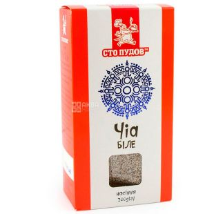One hundred poods, Chia white, 200 g