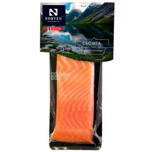 Norven, Семга филе-кусок холодного копчения, 240 г