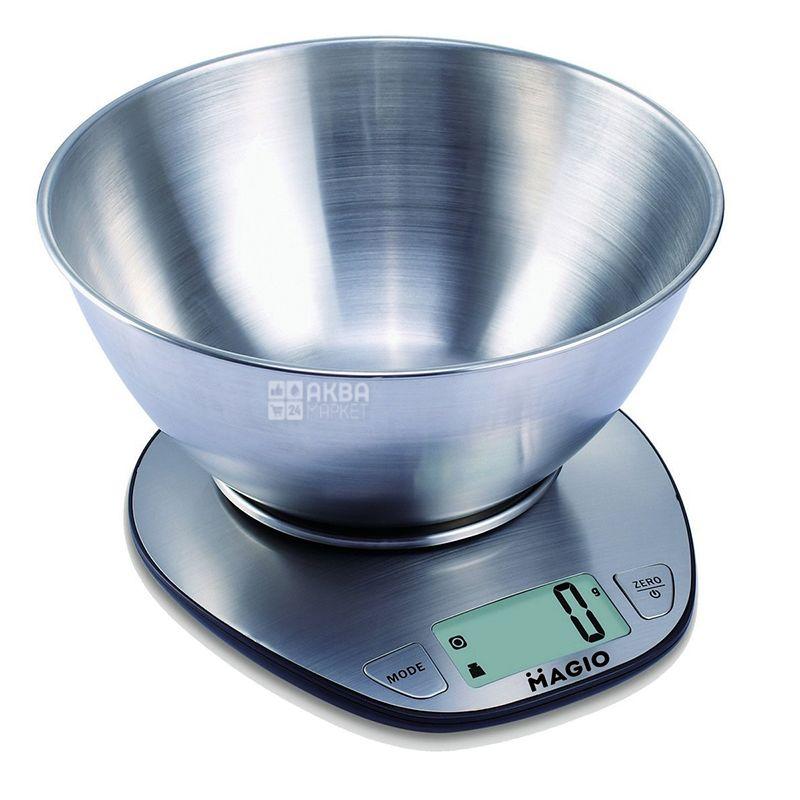 Magio, Весы кухонные MG-69, 1,5 кг, 13x21х23 см