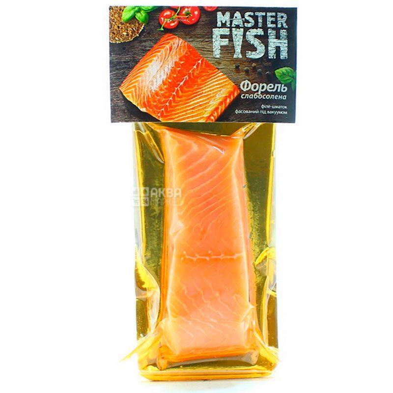 Master Fish, Форель слабосоленая, филе, 240 г