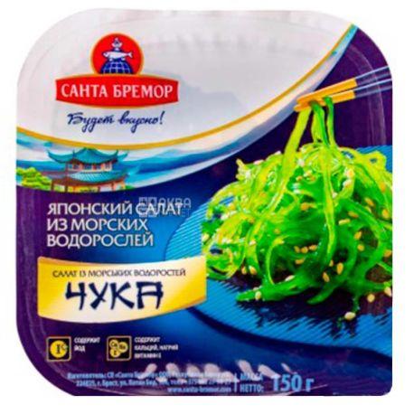Санта-Бремор, Салат чука из морских водорослей с имбирем, 150 г