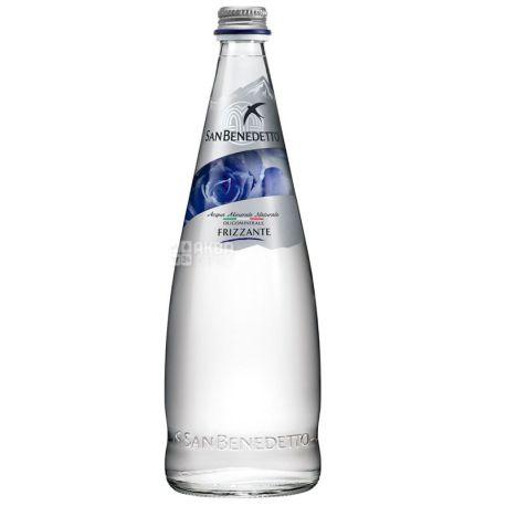 San Benedetto, 0,75 л, Упаковка 12 шт., Сан Бенедетто, Вода газированная, стекло