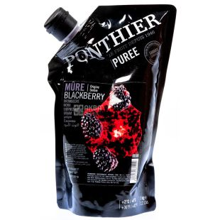 Ponthier, Puree cooled Blackberries, 1 kg