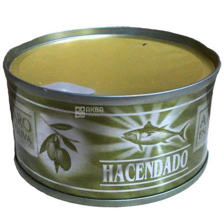 Hacendado Claro, Тунец в оливковом масле, 80 г